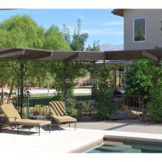Недорогая просторная вилла с бассейном в Неваде